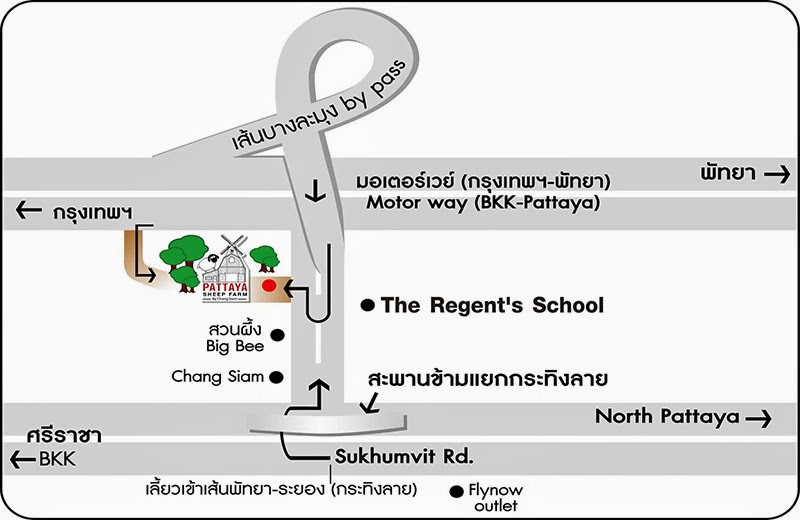 Pattaya_Sheep_farm_map